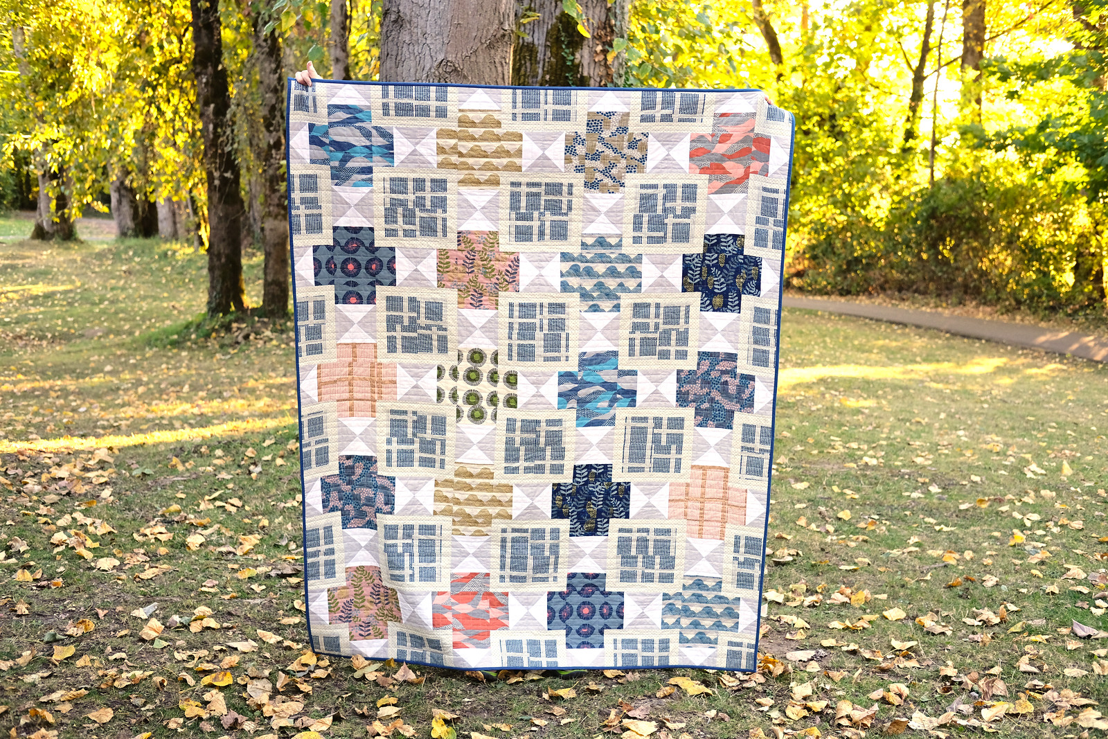Imagined Landscapes - The Mary Quilt Pattern Kitchen Table Quilting