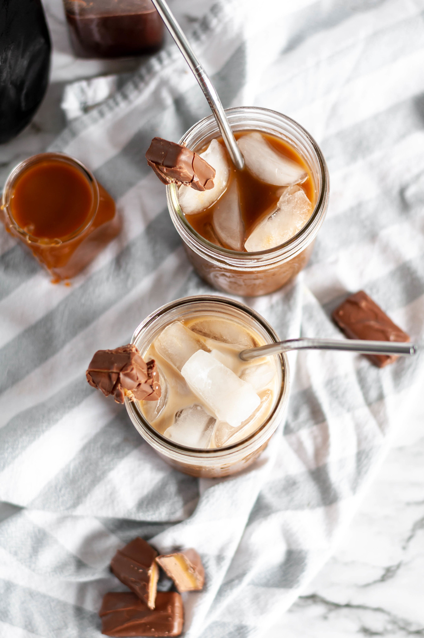 Milky Way Iced Coffee takes all the classic chocolate, caramel and malt flavors of the candy bar and turns it into the perfect way to start your morning.