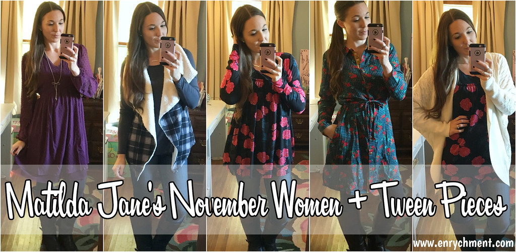 Matilda Jane Choose Your Own Path October + November Women and Tween pieces | www.enrychment.com