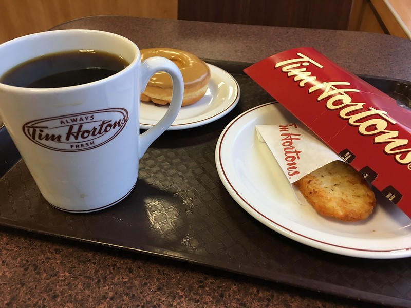 Tim Horton's Breakfast