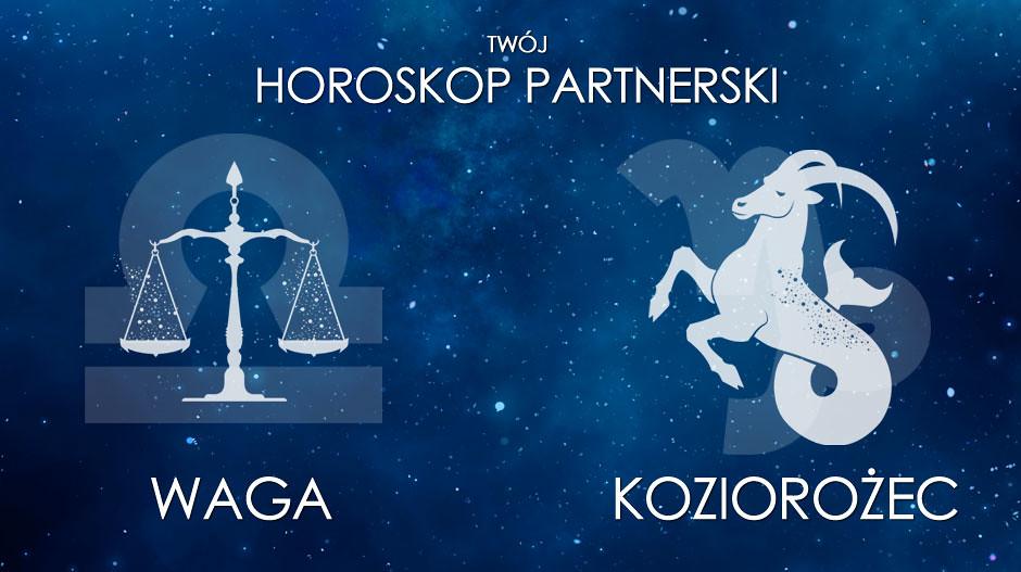 Horoskop partnerski Waga Koziorożec