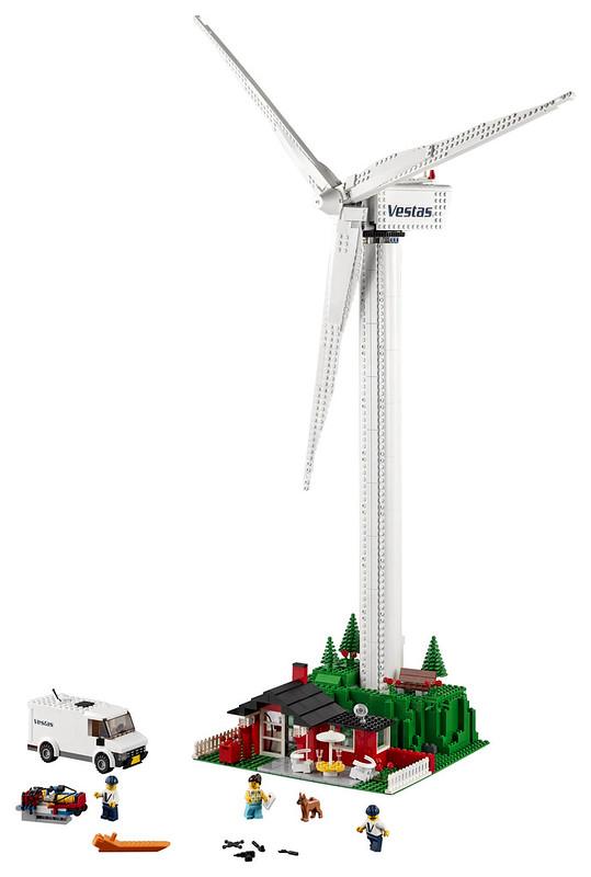 LEGO Creator 10268 Vestas Wind Turbine 3