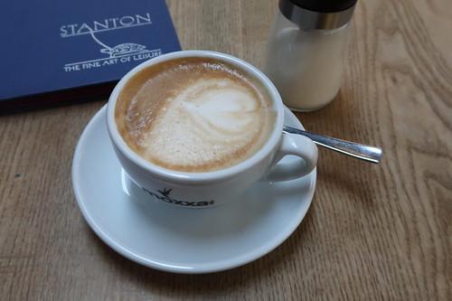 Moxxa Cappuccino im Café Stanton (Köln)