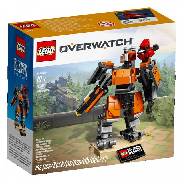 Powered by Your Salty Tears! LEGO 75987《Overwatch》Omnic Bastion【Blizzard Gear Store Exclusive】