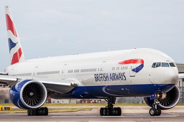 G-STBA British Airways Boeing 777-336(ER)
