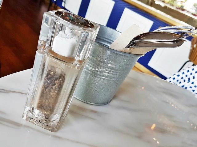 Cutlery, Salt & Pepper