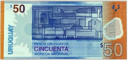 Uruguay 50 pesos banknote