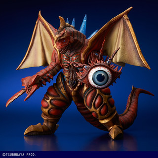 X-PLUS 《大怪獸系列》 ULTRA NEW GENERATION 超合體怪獸「五帝獸 發光版本」!ファイブキング(発光Ver.)