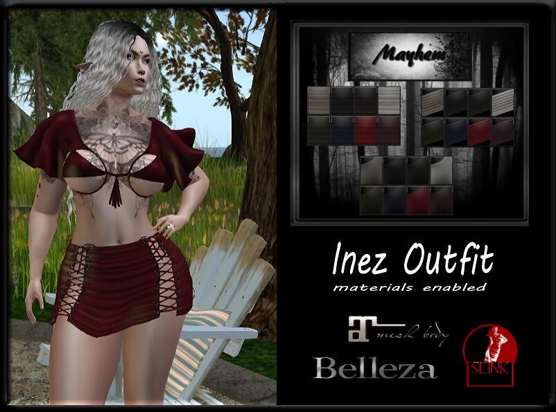 Mayhem Inez Outfit - TeleportHub.com Live!