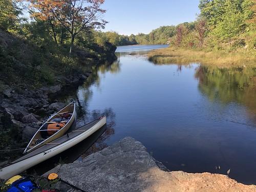 sharklake canoe canoeing camping