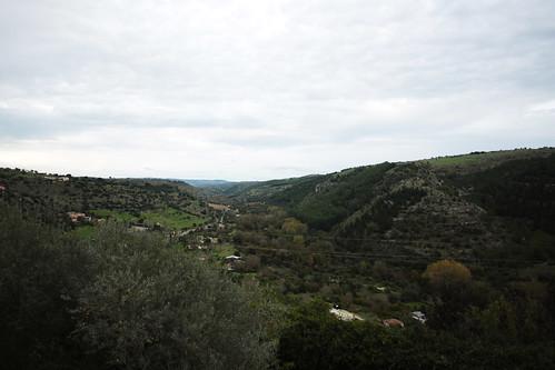 Ibla: vista sulla valle