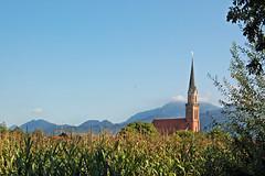 Übersee am Chiemsee - Pfarrkirche Sankt Nikolaus (1)
