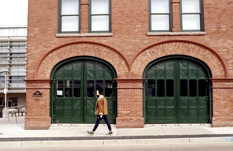 Galt Firehouse Doors