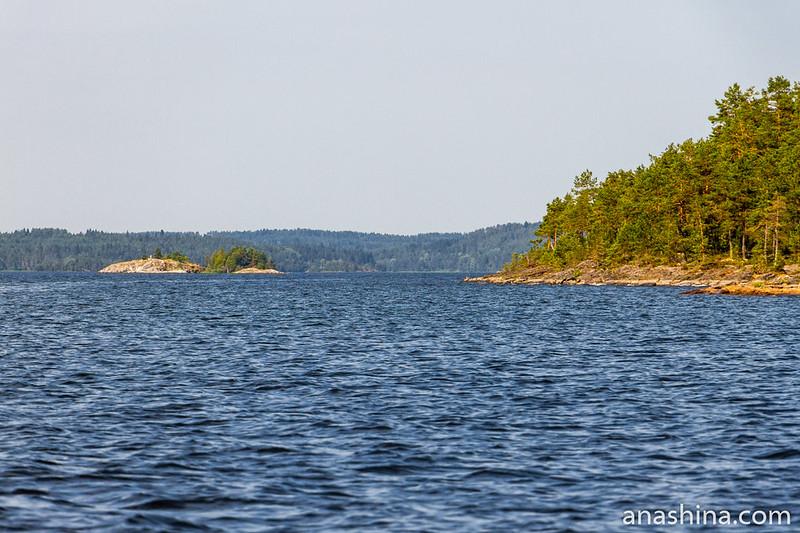 Острова в Ладоге