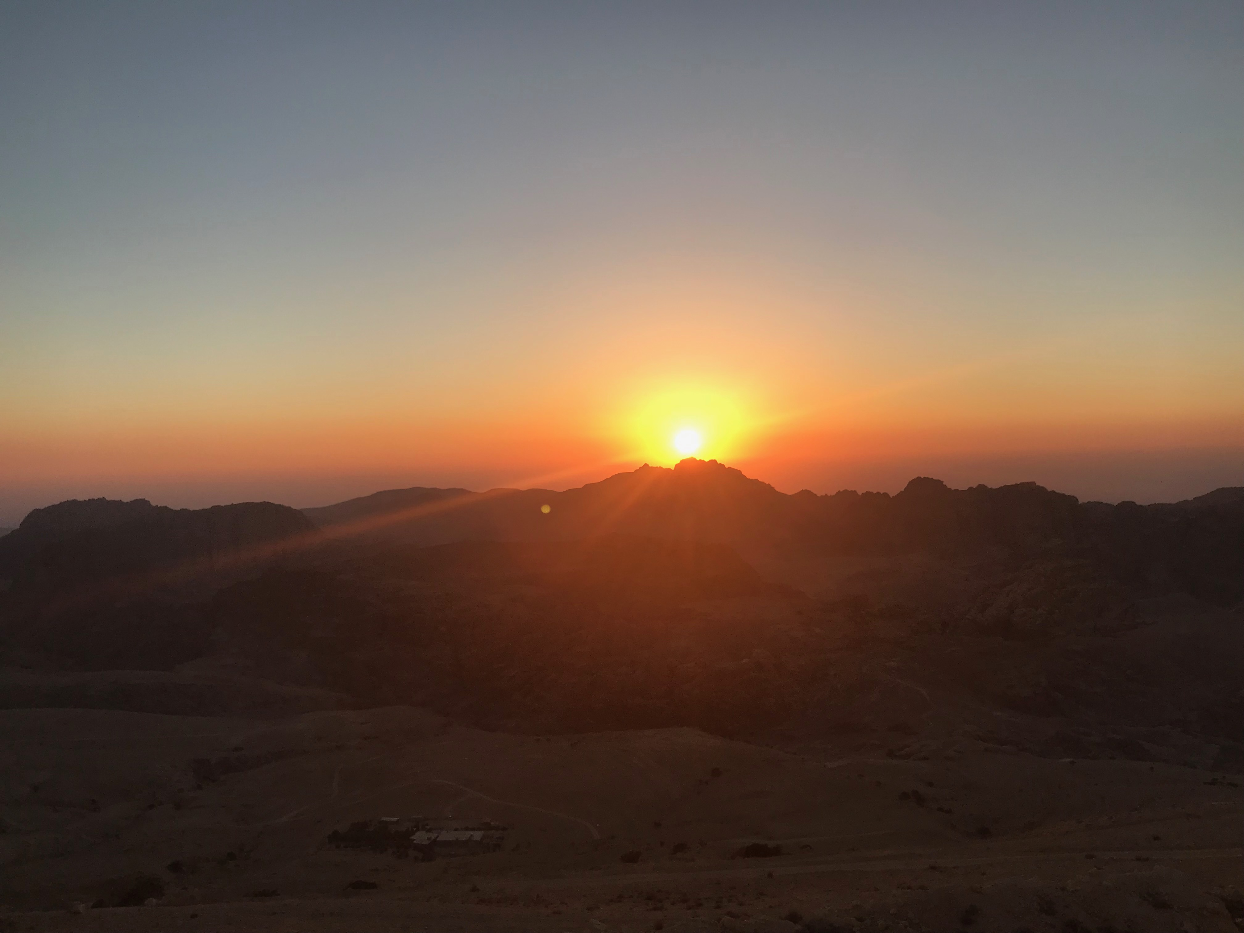 Petra - sunset