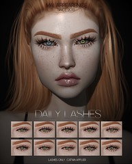 Mai. - Daily Lashes [CATWA APPLIERS]