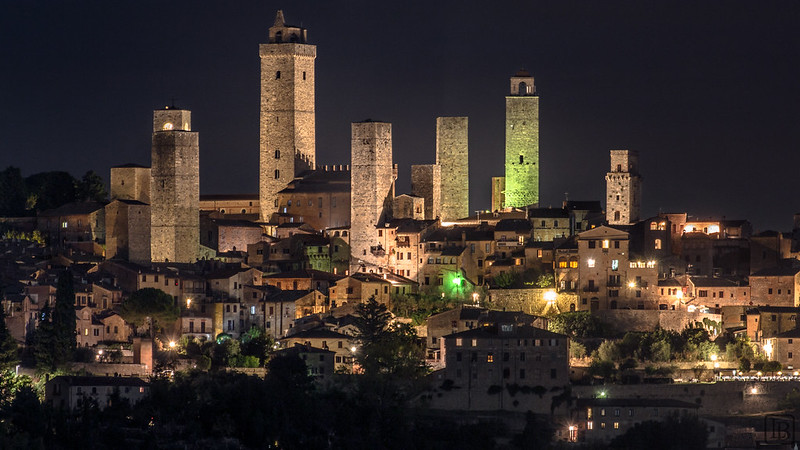 San Gimignano nighttime