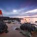 Herd Groyne Lighthouse (sunrise)