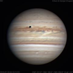 Jupiter   2018-07-16 4:10 UTC   RGB