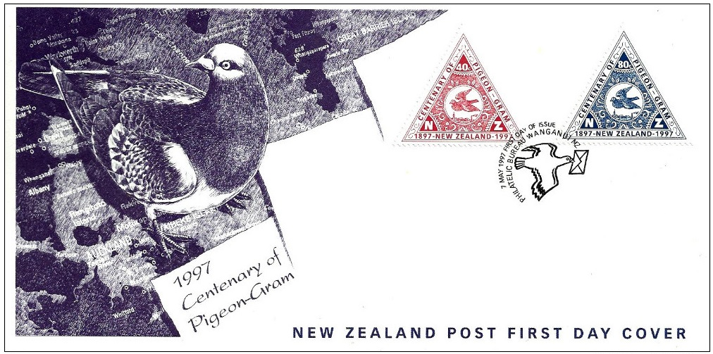 New Zealand - Scott #1435-1436 (1997) first day cover