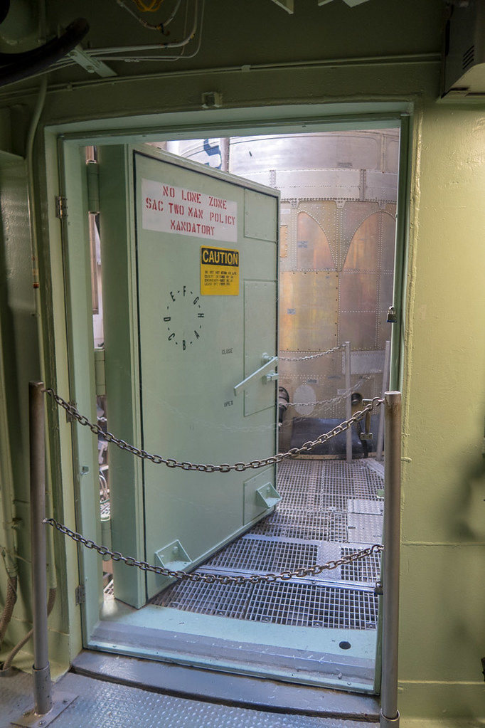 Door to missile area