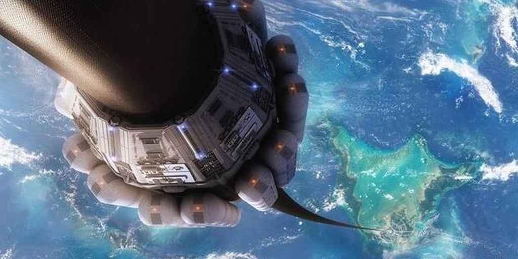 Un ascenseur spatial : une nanofibre peut soulever 160 éléphants