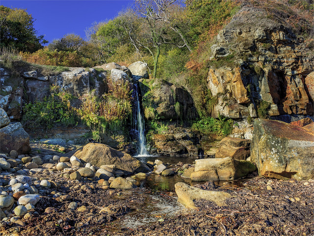 Secret Waterfall Yorkshire
