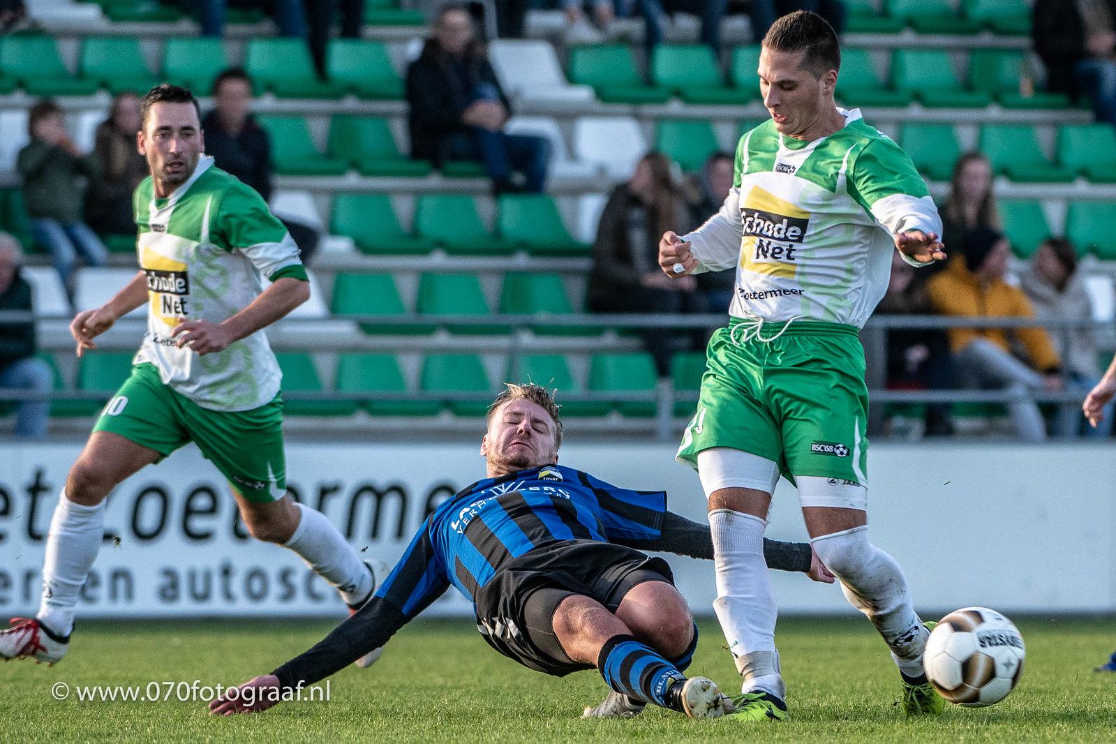 Voetbal: 2018-11-03 VV BSC '68 1 – Blauw-Zwart 1 [1-0]