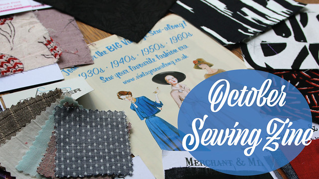 October Sewing Zine Vlog
