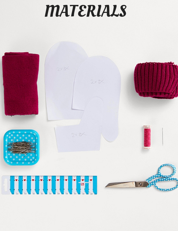 DIY Gloves MATERIALS