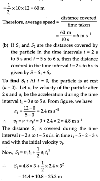 NCERT Solutions for Class 11 Physics Chapter 3 Motion in a Stright line 36