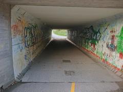 Slitu undergangen / Tenorveien- Eidsberg