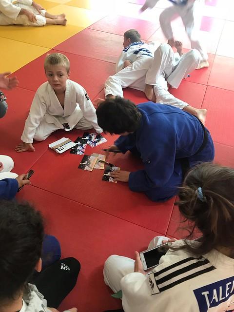Judotraining mit Evelyne Tschopp - 29.09.2018