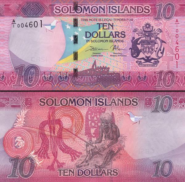 10 Dolárov Šalamúnove ostrovy 2017, P33