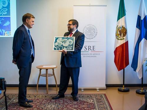 Un finlandés que dibujó a México hace 50 años