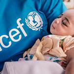Unicef employee & baby, Mali
