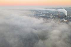 Making clouds | Kaunas aerial