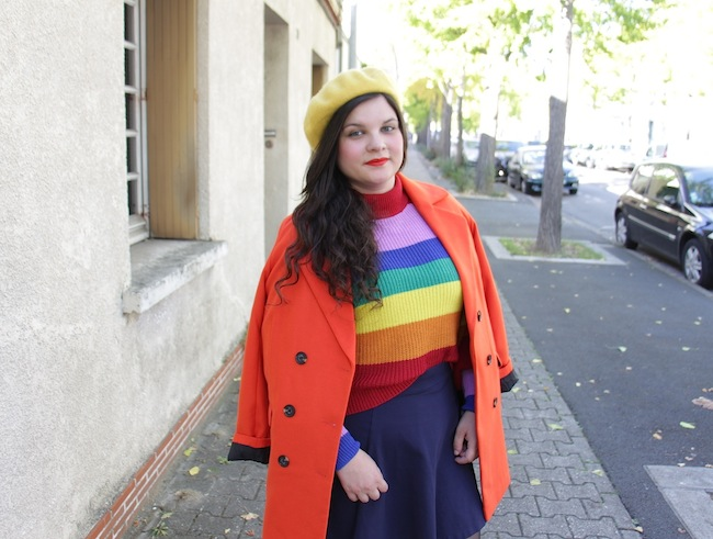 comment-porter-manteau-orange-blog-mode-la-rochelle-5