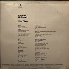 FREDDIE HUBBARD:SKY DIVE(JACKET D)