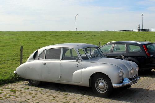 1948 Tatra 87 in Hindeloopen