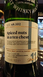 SMWS 48.102 - Spiced nuts in a tea chest