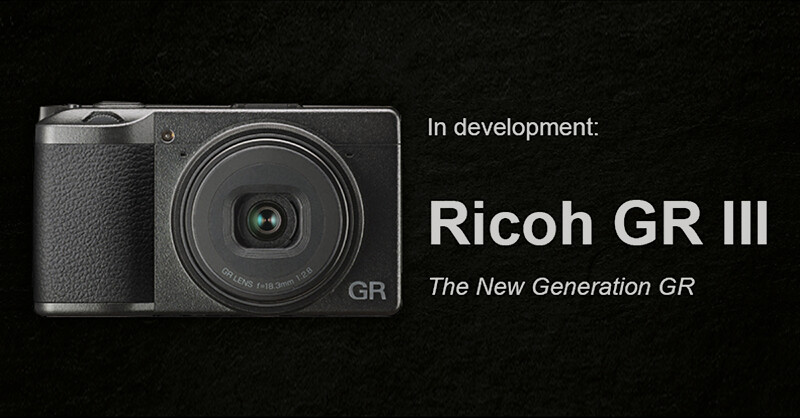 Preview of RICOH GR III High-end Digital Compact Camera at Photokina 2018