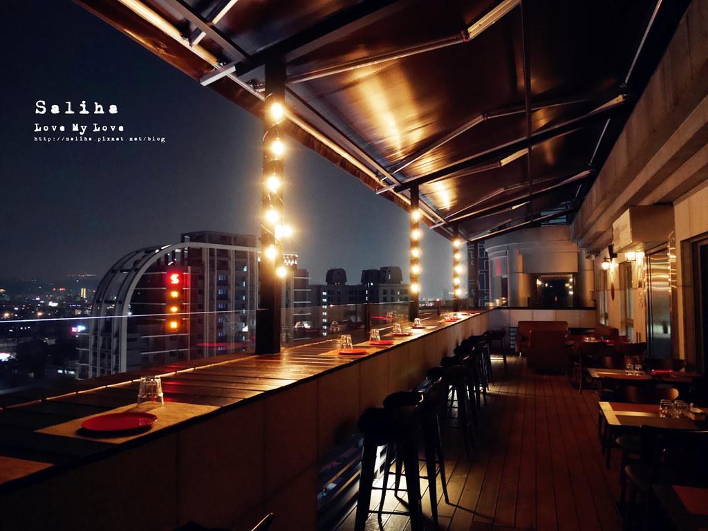 台北夜景景觀餐廳推薦ABV閣樓餐酒館約會情人節氣氛好浪漫 (4)