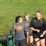 Leilani Carney, Emily Vilac, Brooklyn Golt  at Aberdeen Fox Run (Dave Conroy)