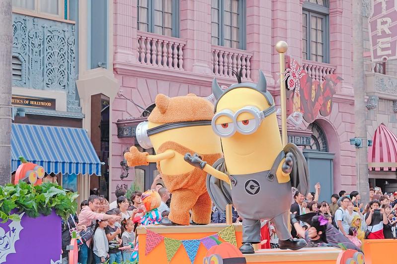 Minions USJ Halloween Day Parade