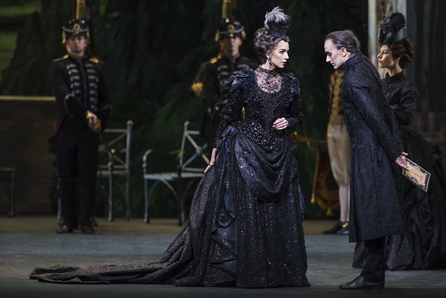 ad6b15614d07 Nathalie Harrison as the Queen and Gary Avis as Von Rothbart in Swan Lake,  The Royal Ballet