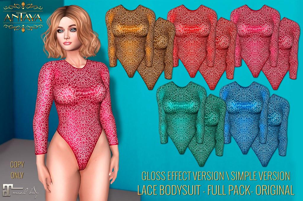 Lace bodysuit - Maitreya  Original mesh - TeleportHub.com Live!