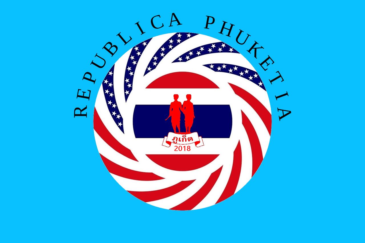 Flag of Republica Phuketia, final version