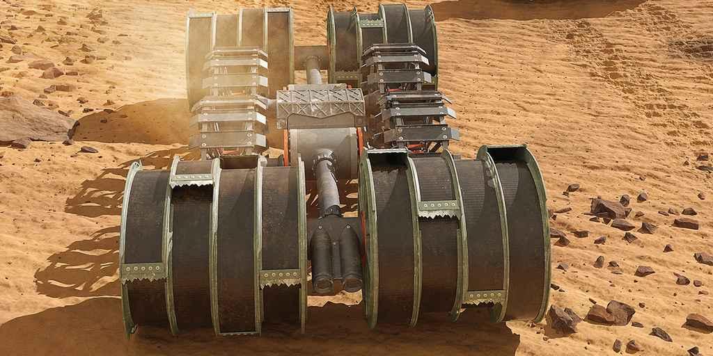 La NASA utilisera des robots pour créer du carburant