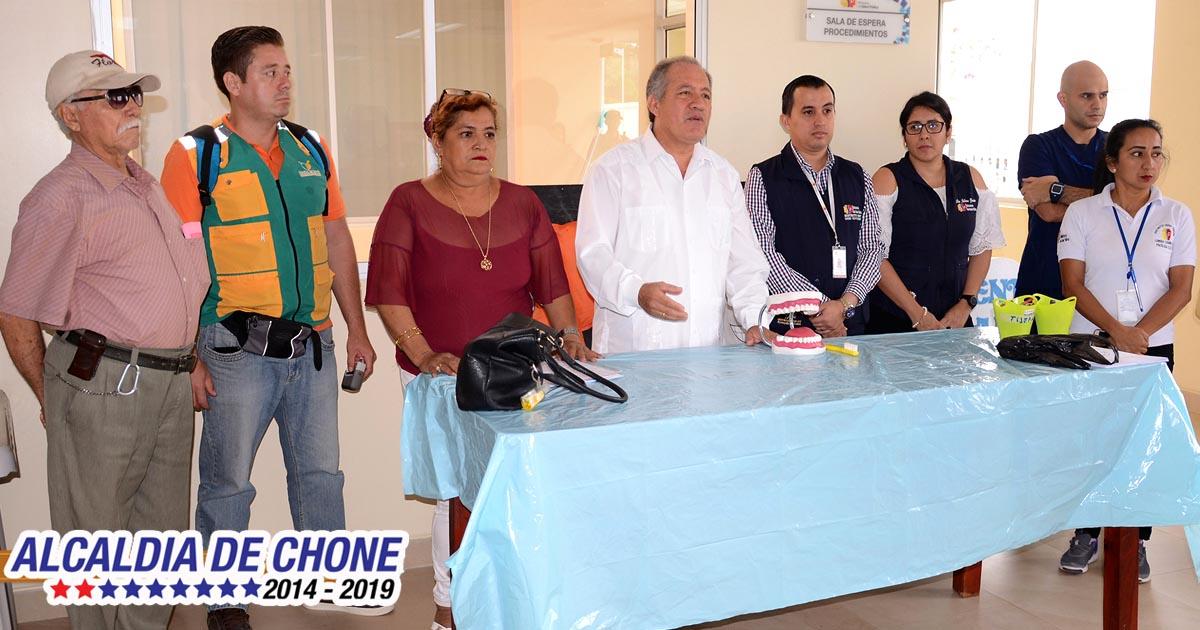 Un espacio de rehabilitación para las personas vulnerables en Chone